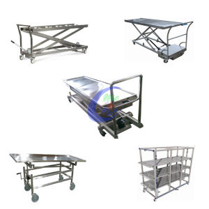 Mortuary Equipment Stainless Steel Corpse Lifting Equipment pictures & photos