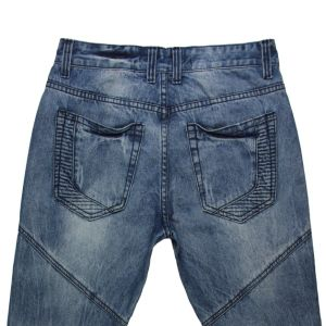 High Quality Men′s Smcok Jeans (MYX15) pictures & photos