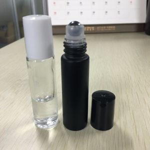 10ml Roll on Black Essential Oils Perfume Glass Bottles pictures & photos
