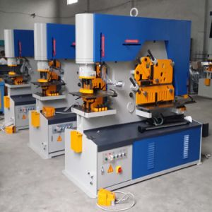 Q35y, Diw, Piw Series 120 Ton Equipment Hydraulic Ironworker for Punching, Cutting, Bending pictures & photos