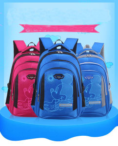 Widened Straps Water-Proof 6-12 Years Old Girls and Boys School Backpack pictures & photos