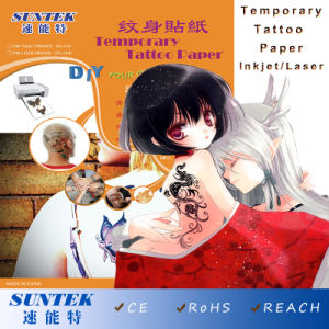 Water Transfer Tattoo Sticker with Temporary Feature for Inkjet and Laser pictures & photos