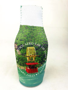 Custom Neoprene Bottle Cooler with Zipper Can Cooler Portable pictures & photos