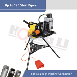 1500W Hydraulic Roll Groover Machine with Foot Switch pictures & photos