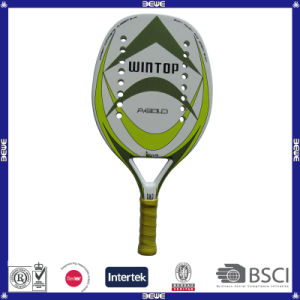 Professional Beach Tennis Racket Btr-4006 a-Gold pictures & photos