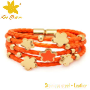 Christmas Genuine Leather Wristbands Men pictures & photos