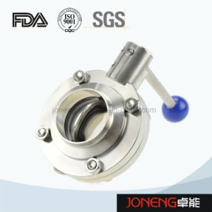 Stainless Steel Food Grade Spring Type Butterfly Valve (Jn-BV2001 pictures & photos