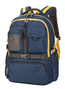 Top Quality Polyester Student School Backpack Bag pictures & photos