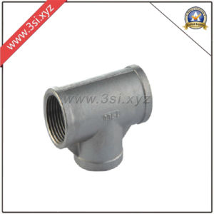 DIN/ASTM Casting Steel Straight Tee (YZF-F271) pictures & photos
