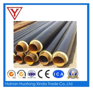 Steel Jacket Glass Wool Steam Pipe Insulation Insulated High Temperature Heat Resistant Steel Pipe pictures & photos