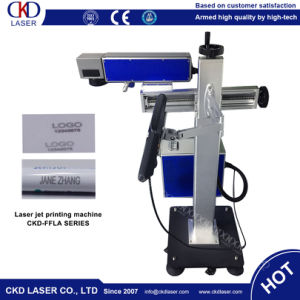 20W Fiber Pipelinling Fly Laser Marking Machine pictures & photos