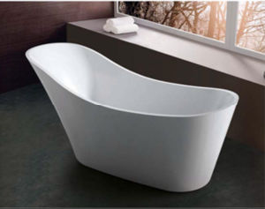 (K1525) Freestanding Acrylic Bathtubs / Massage Whirlpool Bathtubs pictures & photos