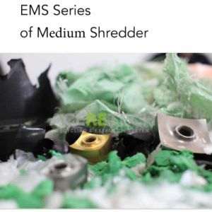 EMS Series Shredder/Granulator for Middle Electronic Waste/Cable/Film/Woven Bags pictures & photos