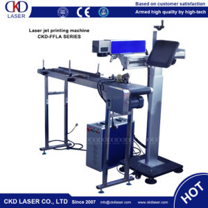 20W Fiber Laser Flyer Marking Machine for Factory pictures & photos