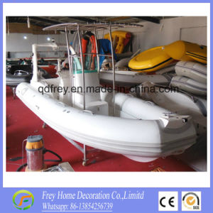 Hot Sale Ce Fibreglass Rib Fishing Boat, Mortor Boat pictures & photos