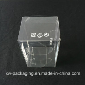 High Quality Clear Plastic Folding Box for Electronic Blister Packaging pictures & photos