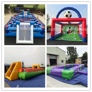 New Design Inflatable Soap Football Field /Inflatable Soccer Football Field for Sale pictures & photos