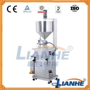 Pneumatic Semi Automatic Filling Filler Machine for Cream/Liquid/Lotion pictures & photos