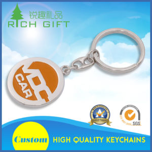 Cheap Souvenir Alloy Custom Metal Keychain with Logo Printed pictures & photos