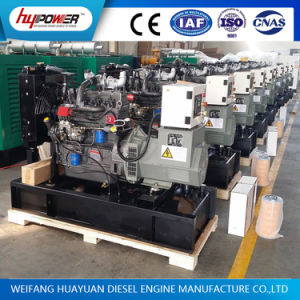 125kVA Opened Diesel Generator with Bottom Fuel Tank and Battery pictures & photos