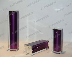 New Arrival Purple Acrylic Lotion Bottle for Cosmetic Packaging (PPC-ALB-048) pictures & photos