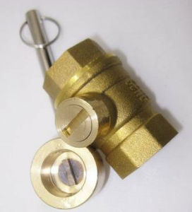 Female Thread Brass Ball Valve with Lock pictures & photos