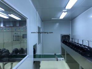 PU Clear Coat Helmet Spray Painting Line pictures & photos