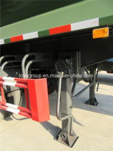 3 Axle Dump Semi Trailer U Type 54 M 3 pictures & photos