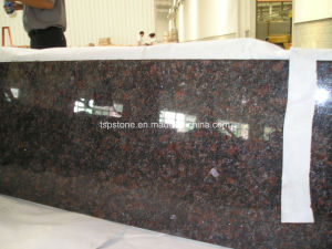 Tan Brown Granite Countertop for Kitchen pictures & photos