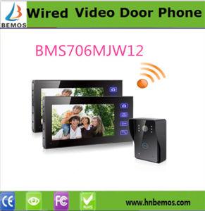 """7"""" TFT Wireless Video Door Phone with Intercom Monitor Doorbell pictures & photos"""