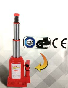 Hydraulic Double RAM Bottle Jack ZW0204S pictures & photos