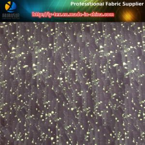 Polyester T400 High Elastance Pongee Fabric with Burned-out for Jacket pictures & photos