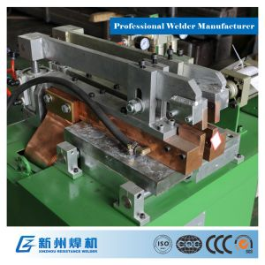 Adjustable Butt Welding Machine with Pneumatic System to Weld The Alloy Tube pictures & photos