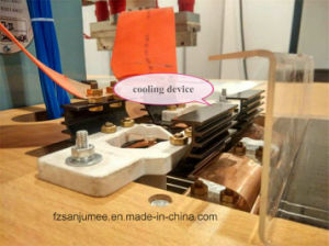 8kw High Frequency Shoe Upper/ Vamp Welding Fusing Embossing Machine pictures & photos