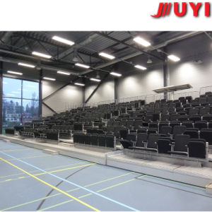 Jy-768 Wholesale Wood Mobile Stage Telescopic Seating System Plastic Bleachers Portable Indoor Bleachers for Sale pictures & photos
