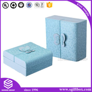 Customized Luxury Handmade Packaging Jewelry Leather Box pictures & photos