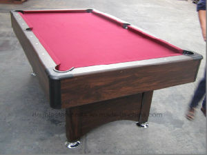 MDF Pool Billiard Table pictures & photos