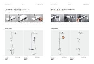 Luxury Shower Set, Featured Shower, Mixer pictures & photos