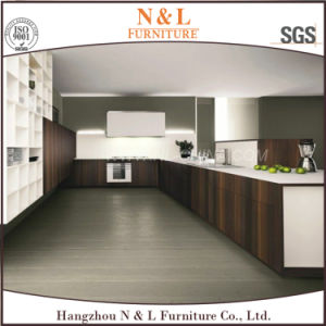 Wood Melamine Carcass MFC Door Kitchen Cabinet pictures & photos