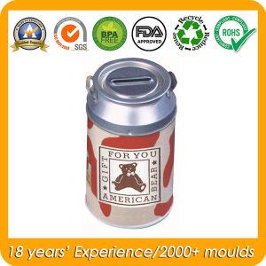 Food Grade Round Milk Tin Box, Metal Food Box pictures & photos