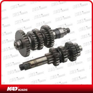 Motorcycle Transmission Set Main and Counter Shaft for Gxt200 Motorcycle Part pictures & photos