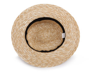 Wheat Straw Fedora Hat pictures & photos