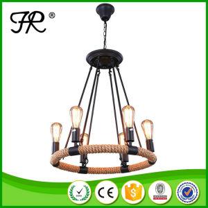 Industrial Pendant Lighting Chandelier Hemp Rope Light pictures & photos