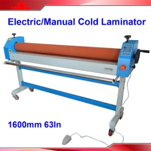 Photo Electric and Manual Cold laminator 1600 pictures & photos