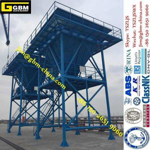 50cbm Port Eco-Hopper Erection on Cameroon Port Dust-Catcher Hopper pictures & photos
