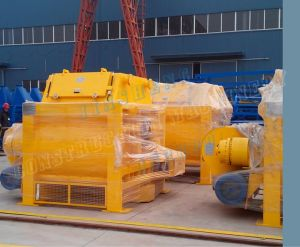 Horizontal Shafts Js3000 Forced Concrete Mixer pictures & photos