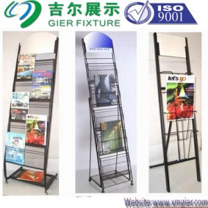 Metal Magazine Display Rack (SLL07-M001) pictures & photos