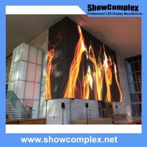 Indoor Full Color LED Video Display for Advertisement with Ce Certification (480*480mm pH2.5) pictures & photos