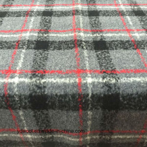 Stock/Ready Check Wool Fabric for Overcoat pictures & photos