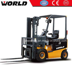 1.5 Ton Battery Forklift for Sale pictures & photos